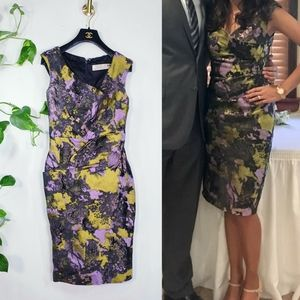 $1,395 LELA ROSE Floral Monet Garden Party Dress 2
